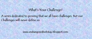 My Challenge: Christine